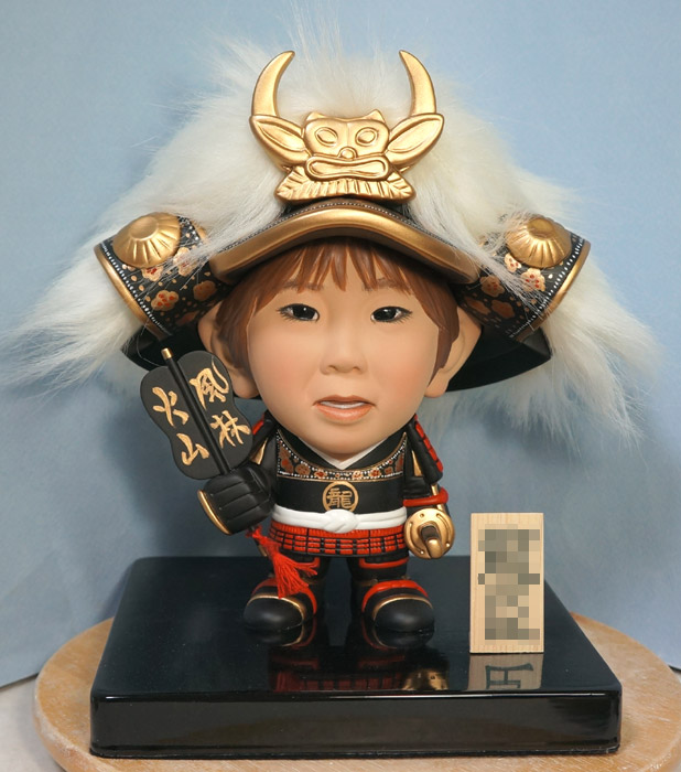 5月人形(武田信玄風)風林火山-そっくり人形参考作品例-64-1