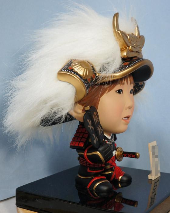 5月人形(武田信玄風)風林火山-そっくり人形参考作品例-64-4
